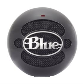 Blue Snowball - USB Condenser Microphone with Accessory Pack (Gloss Black)