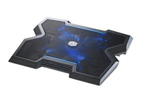 "Cooler Master NotePal X3, Notebook Cooler, USB Hub, up to 17"" with blue LED (R9-NBC-NPX3-GP)"
