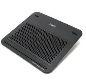 """Zalman ZM-NC1500- B Ultra Quiet Notebook Cooler-Black support up to 15"""" notebook USB-powered w/ fan (ZM-NC1500-B)"""