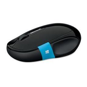 Microsoft Sculpt Comfort Mouse - Black (Retail Box) (H3S-00004) | Bluetooth Wireless , Windows Touch , BlueTrack
