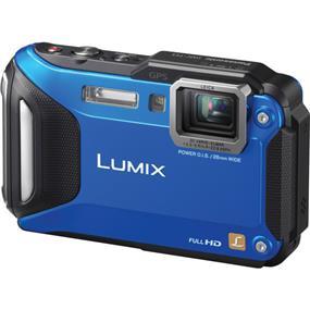 Panasonic Lumix DMC-TS5 - Digital Camera (Blue) | 16.1MP High Sensitivity MOS Sensor | Waterproof to Depth of 39' (12m), Shockproof, Freezeproof & Dustproof | 4.6x Leica DC Zoom Lens: 28-128mm | Wi-Fi