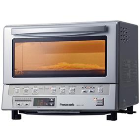 Panasonic FlashXpress Toaster Oven with Double Infrared Heating - Silver (NBG110P)