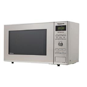 Panasonic NNSD382S Compact Size 0.8 cu. Ft. Countertop Microwave Oven - Stainless Steel (NNSD382S) | 950W