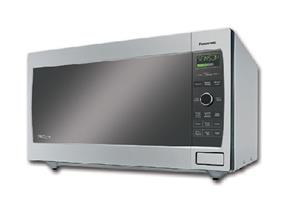Panasonic NNT795S Family Size 1.6 cu. Ft. Genius Inverter Countertop Microwave Oven - Stainless Steel (NNT795S) |1200W