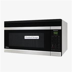 Panasonic NNSA247S 2.0 cu. ft. Auto Cook 180 CFM Over-the-Range OTR Microwave Oven - Stainless Steel (NNSA247S)   1100W