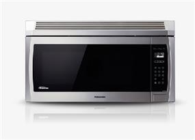 Panasonic NNSE284S 2.0 cu. ft. Genius Prestige Plus Inverter 420 CFM Over-the-Range OTR Microwave Oven - Stainless Steel (NNSE284S) | 1100W , Super Quiet , Glass Touch Keypad