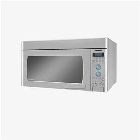 Panasonic NNSD291S 2.0 cu. ft. Genius Prestige Inverter 450 CFM Over-the-Range OTR Microwave Oven - Stainless Steel (NNSD291S) | 1100W , New LED Light , Digital Dial