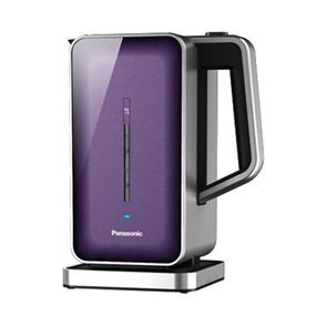 Panasonic NCZK1V 1.4 Litre Electric Kettle with Lime Scale Filter - Purple (NCZK1V)   360 Degree Rotation , LED Indicator , Cool Touch Exterior , Auto Shut Off