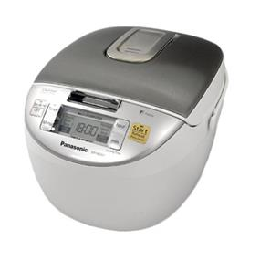 Panasonic SRMGS102 1.0 Litre 5 Cup Microcomputer Controlled Rice Cooker with Fuzzy Logic Technology - Stainless Steel (SRMGS102) | 835W , 24 Hour Preset Timer , 8 Cooking Options , Keep Warm