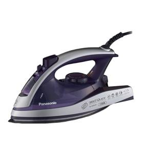 Panasonic NIW950A Professional 360 Degree Quick Multi-Directional Steam / Dry Iron with Curved Alumite Scratch Proof / Non-Stick Soleplate - Violet (NIW950A) | 1700W , Anti-Calcium System , Vertical Steam , 3 Way Cleaning System , Auto Shut Off