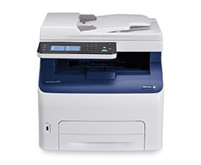 Xerox WorkCentre 6027/NI Multifunction Colour Laser Printer | 18 PPM Colour | 1200x2400 DPI Print | Print, Scan, Copy, Fax | USB, Wi-Fi, Ethernet Connectivity | 1 Year Quick Exchange Warranty  (1-800-835-6100)