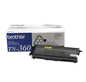Brother TN360 Black High Yield Toner Cartridge - 2600 Page