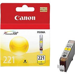 Canon CLI-221 Yellow Ink Cartridge (2949B001)