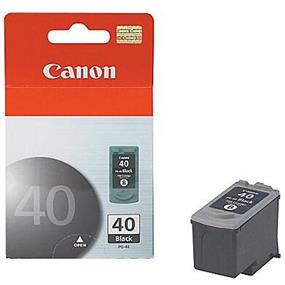 Canon PG-40 Pigment Black Ink Cartridge (615B002AA)
