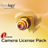 Synology CLP1 Camera License Pack- One (1) Camera License for Synology Surveillance Station