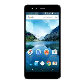 """FiGO Atrium 5.5"""" Dual Sim Unlocked 4G LTE Smartphone – Black   Camera: 13MP Front, 8MP Rear   Quad-core 1.3 GHz MT6735    Android OS v5.1 (Lollipop)   Ram: 1GB, Storage: 16 GB   Screen Resolution:  720 x 1280 HD   Compatible with Wind and Mobilicity"""