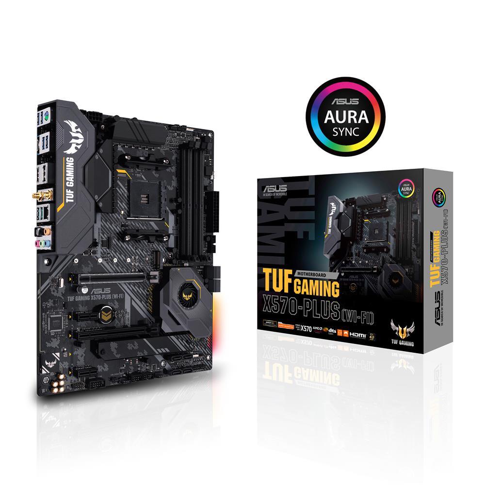ASUS TUF GAMING X570-PLUS (Wi-Fi) AMD AM4 X570 ATX gaming