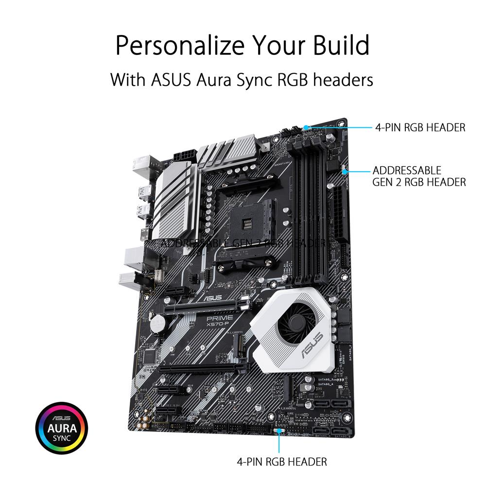 ASUS PRIME X570-P AMD AM4 ATX motherboard with PCIe 4 0 | Canada
