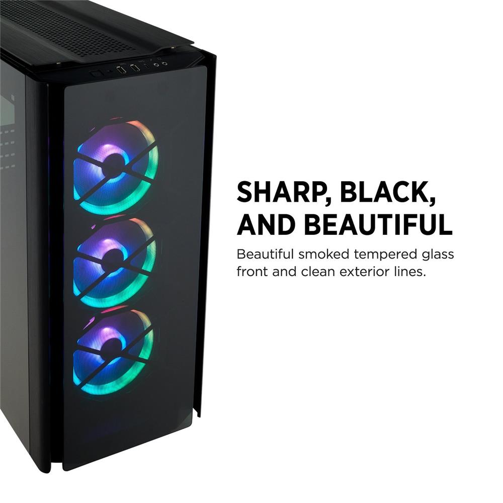 Corsair Obsidian Series 500D RGB SE Mid Tower Case, Premium Tempered
