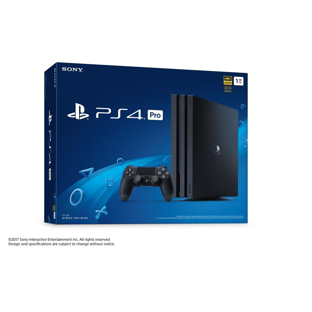 Sony Playstation 4 Pro Console 1 Tb Canada Computers Electronics