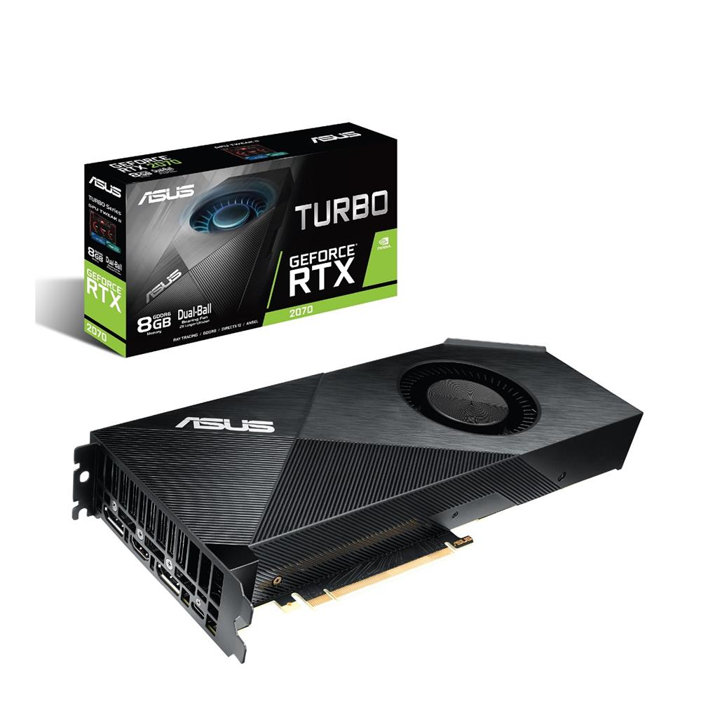 ASUS GeForce RTX™ 2070 8G Turbo Edition GDDR6 | Canada Computers