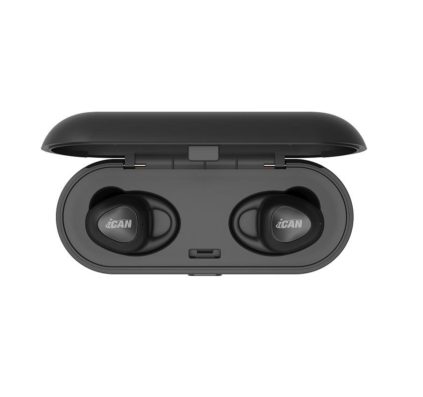 iCAN Bluetooth v5 0 True Wireless Stereo Earbuds (T9) 3hr
