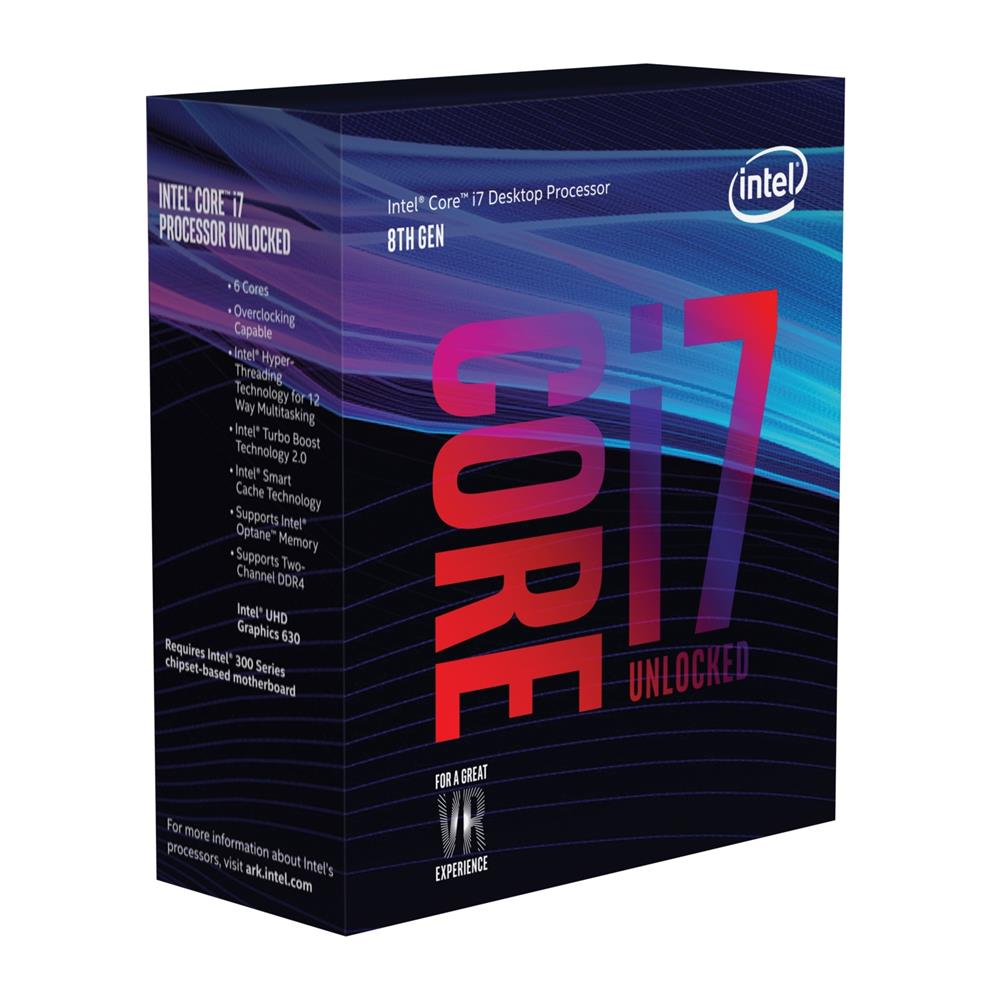 Intel Core i7 8700K Coffee Lake 6 Core Processor | Canada