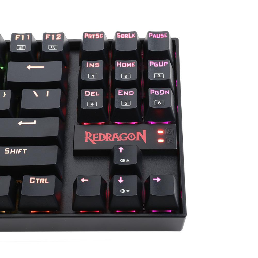Redragon K552-RGB Mechanical Gaming Keyboard 87 Keys Small Compact RGB Backlit U