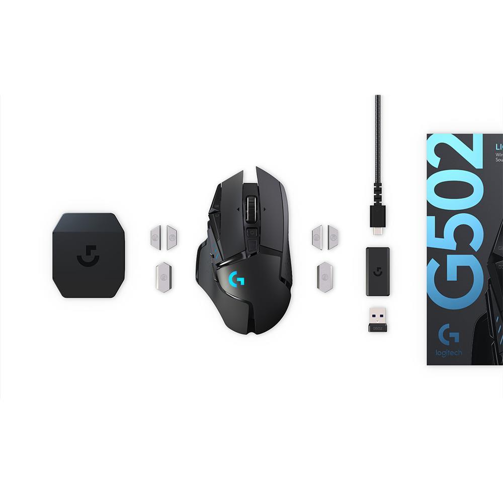 Logitech G502 Lightspeed wireless RGB gaming mouse | Canada