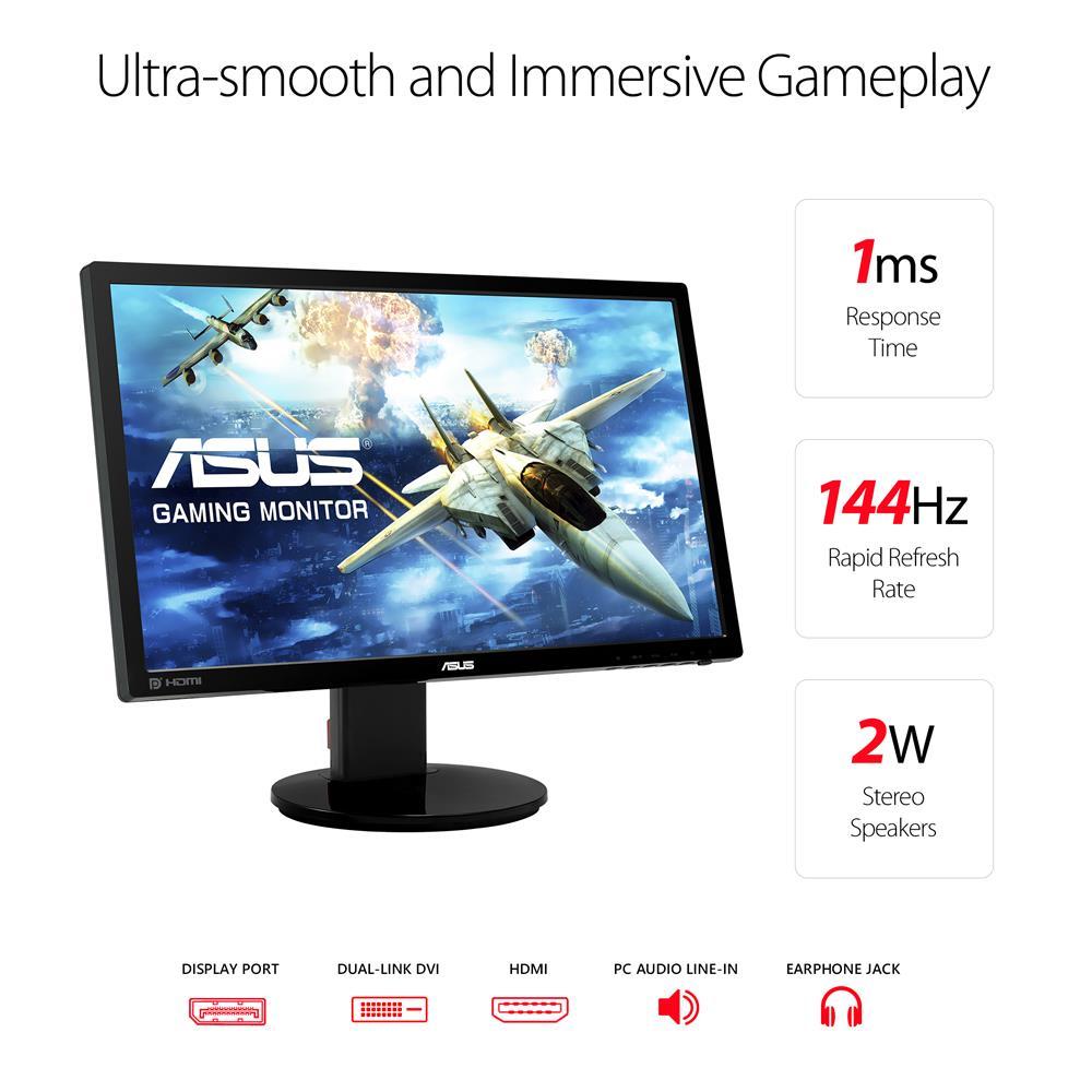 """ASUS VG248QZ 24"""" Full HD LED Monitors 90LMGG501Q022E3U"""