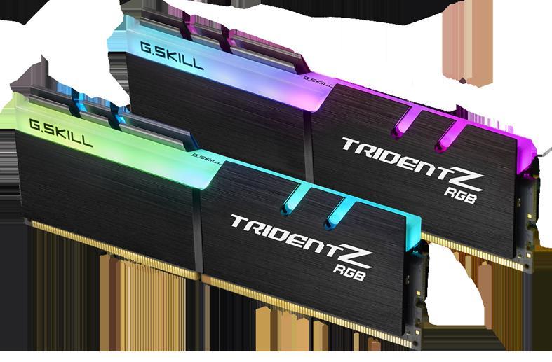 G SKILL Trident Z RGB Series 16GB (2x8GB) DDR4 3200MHz CL14