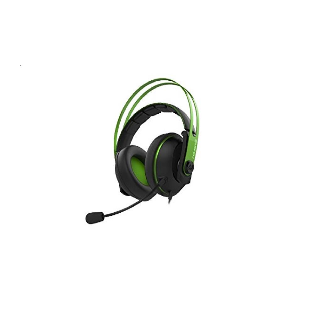 ASUS Cerberus V2 Green Gaming Headset with Dual-microphone Design