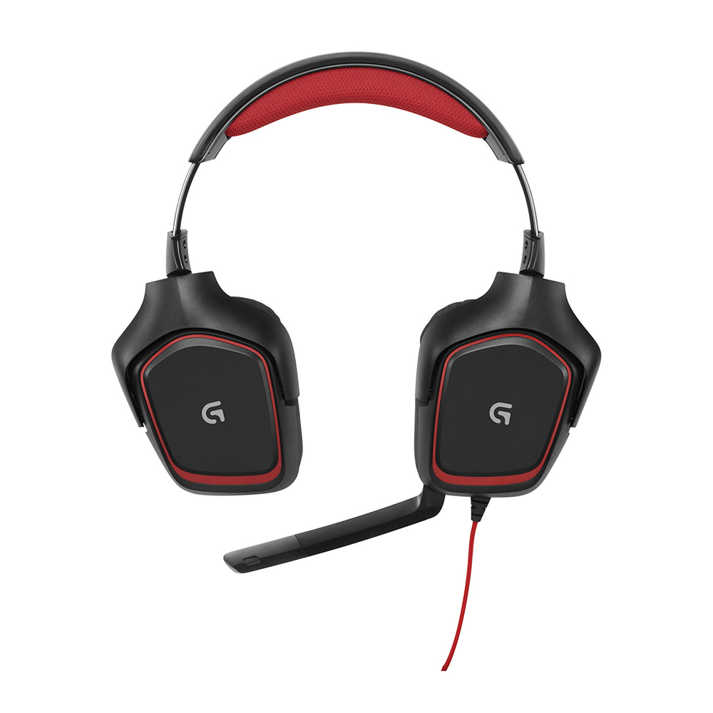 Logitech G230 Stereo Gaming Headset Black Red | Canada