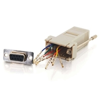 Cables To Go RJ45 to DB9 Female Modular Adapter - Gray (02941)