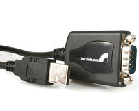 StarTech 1 Port Professional USB to Serial Adapter Cable with COM Retention (ICUSB2321X)