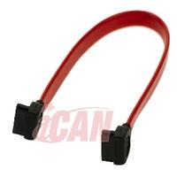 "iCAN SATA 3 6GB/s Data Cable Right Angle - Right Angle - 9"" (SATA3-6G-09RR)"