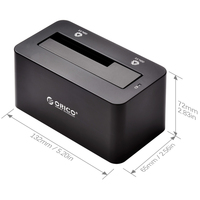 """ORICO 6619US3 USB3.0 (5Gbp/s) Docking station for 2.5"""" & 3.5"""" HDD & SSD [6TB Support]"""