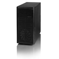 Fractal Design Core 1000 USB 3.0 Mid-tower Black -Steel -4 x Bay, 1x 120mm Fan installed- mATX, Mini ITX , DTX motherboard Support (FD-CA-CORE-1000-USB3-BL)