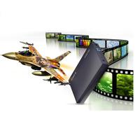 "ORICO 3588US3 SATA Super Speed USB 3.0 Tool Free 3.5"" Black HDD Case Hard Drive Enclosure"