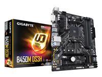 GIGABYTE B450M DS3H Socket AM4 | Dual Channel DDR4 3200(OC), M.2 | USB 3.1, DVI-D, HDMI, Micro ATX Mothrtboard