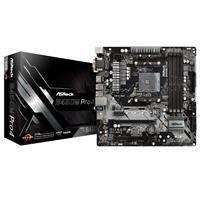 ASRock B450M PRO4 Socket AM4 | Dual Channel, PCIe 3.0, 2xM.2 | USB 3.1, DVI-D, HDMI, D-Sub, RGB mATX Motherboard