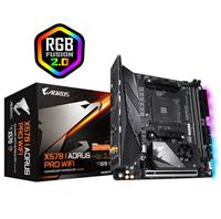 GIGABYTE X570 I AORUS PRO WIFI Motherboard with Direct 8 Phases IR Digital VRM, Advanced Thermal Design with Extended & Multi-Layered Heatsink, Dual PCIe 4.0 M.2, M.2 Thermal Guard, Intel® WiFi 6 802.11ax, Intel GbE LAN with cFosSpeed, USB 3.1 Gen2 Type-C, RGB Fusion 2.0