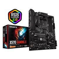 GIGABYTE X570 GAMING X Motherboard with 10+2 Phases Digital VRM, Advanced Thermal Design with Enlarge Heatsink, Dual PCIe 4.0 M.2, M.2 Thermal Guard, GIGABYTE Gaming GbE LAN with Bandwidth Management, HDMI 2.0, RGB Fusion 2.0