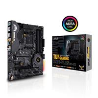 ASUS TUF GAMING X570-PLUS (Wi-Fi) AMD AM4 X570 ATX gaming motherboard with PCIe 4.0, dual M.2, Wi-Fi, 14 Dr. MOS power stages, HDMI, DP, SATA 6Gb/s, USB 3.2 Gen 2 and Aura Sync RGB lighting