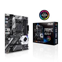 ASUS PRIME X570-P AMD AM4 ATX motherboard with PCIe 4.0, 12 DrMOS power stages, DDR4 4400MHz, dual M.2, HDMI, SATA 6Gb/s, USB 3.2 Gen 2 and Aura Sync RGB header