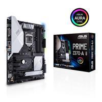 ASUS PRIME Z370-A II LGA 1151 (Intel 8th and 9th Gen) Intel Z370  DDR4, 4000MHz(O.C), PCIe 3.0, 2x M.2/NVMe, USB 3.1 Type C  DP,HDMI, DVI, RGB LED, ATX Motherboard