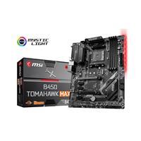MSI B450 TOMAHAWK MAX II Socket AM4, Dual Channel, 2x PCI-E X16, 6xSATAIII DDR4 Boost, Core Boost, RGB, Turbo M.2 and USB 3.2 Gen2 connector