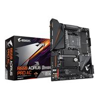 GIGABYTE B550 AORUS PRO AC AMD Motherboard with True 12+2 Phases Digital VRM, Fins-Array Heatsink, Direct-Touch Heatpipe, Dual PCIe 4.0/3.0 x4 M.2 with Thermal Guards, Intel® 802.11ac Wireless, 2.5GbE LAN, RGB FUSION 2.0, Q-Flash Plus