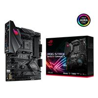ASUS ROG STRIX B450-F GAMING II AMD AM4 B450 Gaming ATX motherboard with DDR4 4400 MHz support, AI Noise-Canceling Microphone, M.2 with heatsink, USB 3.2 Gen 2, SATA 6 Gbps and Aura Sync RGB lighting