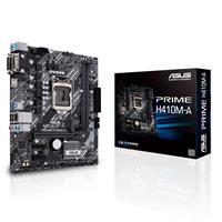 ASUS PRIME H410M-A/CSM LGA1200 (Intel® 10th Gen) Micro-ATX commercial motherboard (M.2 support, HDMI, D-Sub, DVI, USB 3.2 Gen 1, COM header, TPM header and ASUS Control Center Express)